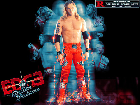 Edge - wrestler, rated-r-superstar, edge, wwe