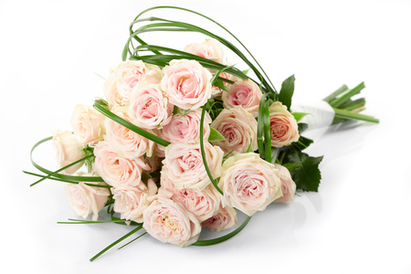 Roses - flowers, photography, harmony, pink, nice, roses, elegantly, flower, bouquet, beautiful, cool, rose, gentle