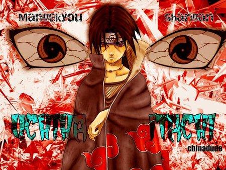 Itachi Uchiha Mangekyou Sharingan Naruto Anime Background Wallpapers On Desktop Nexus Image 587962