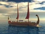Ancient Egyptian Human Powered Boat