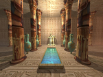 Interior Anubis Temple