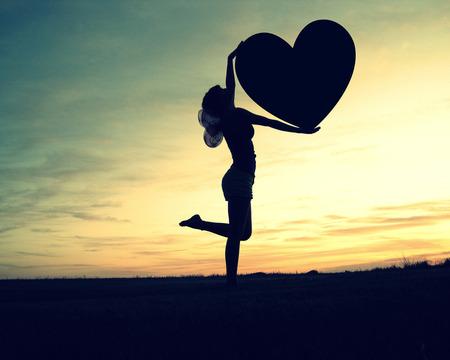 You can not hurt my heart - wings, butterfly, grass, sky, feeling, heart, girl, night, love