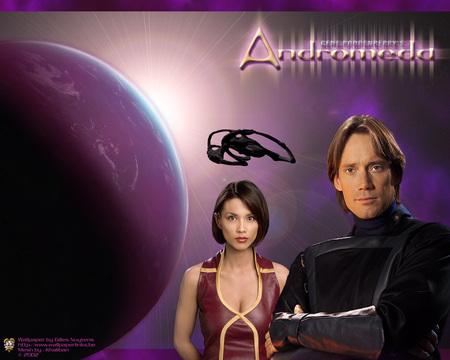 Andromeda - space, andromeda, sci-fi, series