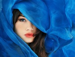 Blue Veiled Beauty