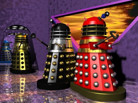 Dalek Tv Series Entertainment Background Wallpapers On