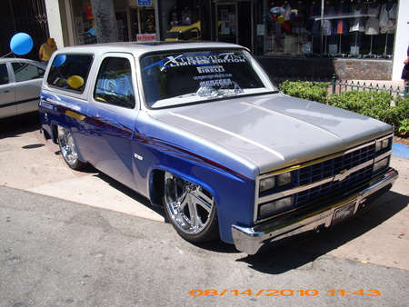 CHEVY BLAZER - outside, lowrider, blazer, chevrolet