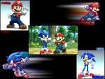 Sonic & Mario RIVALS OR FREINDS!?