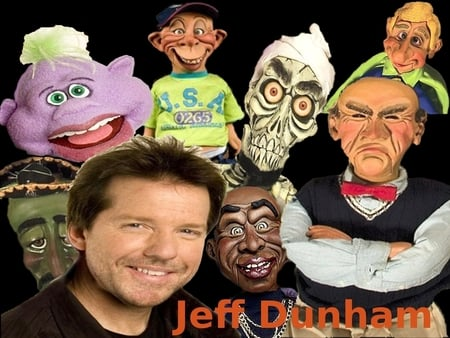 Jeff Dunham - bubba jay, jeff dunham, walter, achmed, peanut
