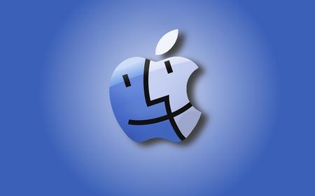 Apple Finder Logo Apple Technology Background Wallpapers On