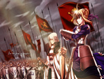 Saber & her Army