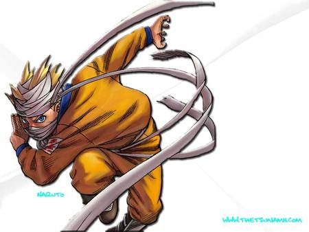 Bandaged Naruto - anime, bandage, ninja, naruto