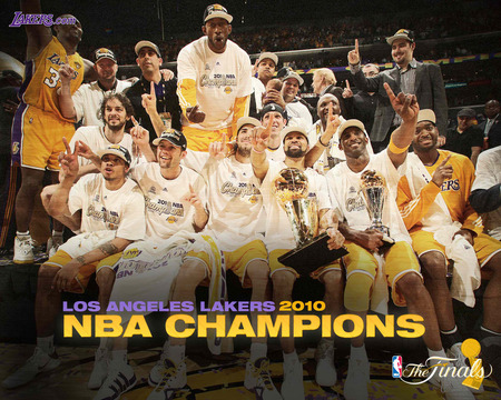 los angeles Lakers - 2010, champions, kobe bryant mvp, lakers