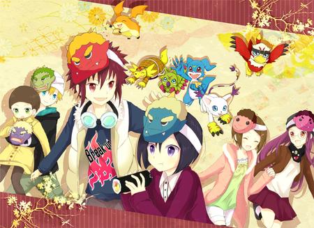 Digimon Digimon Anime Background Wallpapers On Desktop