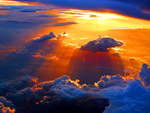 Sunset heavens