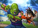 Kid Goku vs piccolo