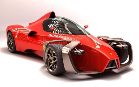 Ferrari Zobin - sport, zobin, concept, ferrari