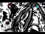 Black Gold Saw & Black Rock Shooter