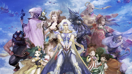 Final Fantasy IV - cecil, ffiv, square, final fantasy, rydia