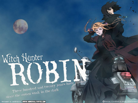 Untitled Wallpaper - witch hunter robin