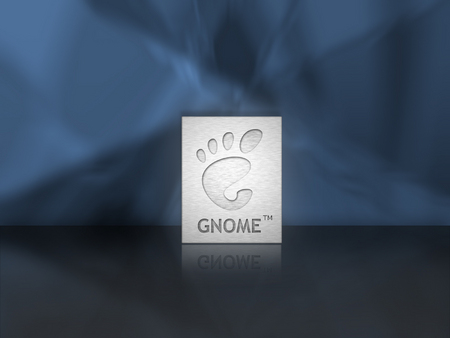 Gnome Plate - brushed aluminum, gnome, plate