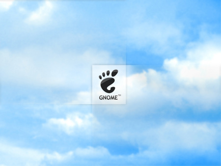 Sky Gnome - gnome, clouds, footprint, sky