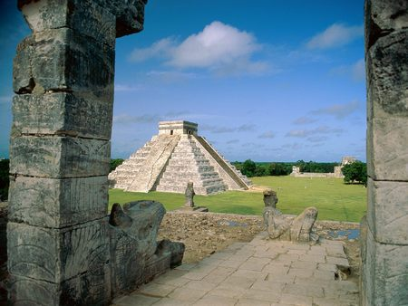 Untitled Wallpaper - mayan toltec, el castillo, chichen itza, mexico