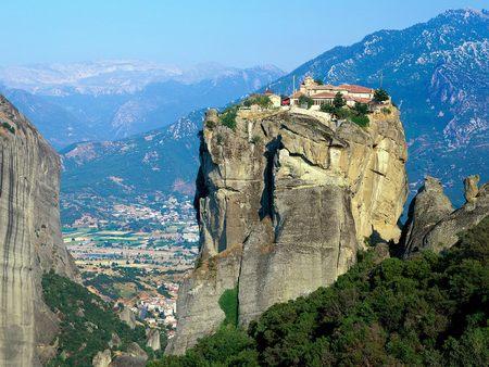 Monastery of Agia Triada Meteora Greece - meteora, monastery of agia triada, greece