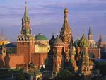 St. Basils Cathedral and Kremlin - Moscow, Russia