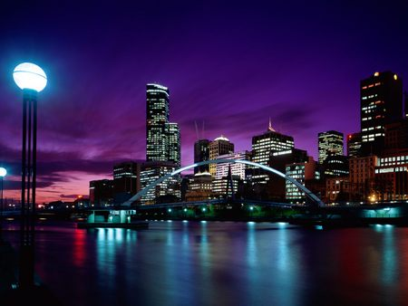 Melbourne Hotels  - cityscape, sunset, australia, melbourne, ju