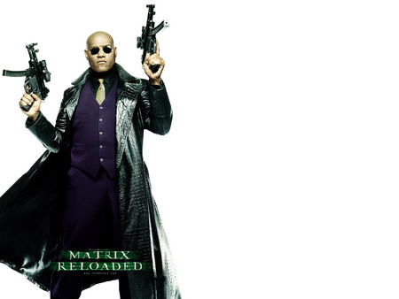 Untitled Wallpaper - laurence fishburne, morpheus, the matrix, matrix, 7, matrix reloaded
