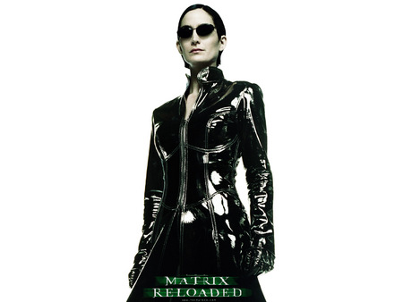 Untitled Wallpaper - carrie anne moss, matrix reloaded, matrix, trinity, the matrix