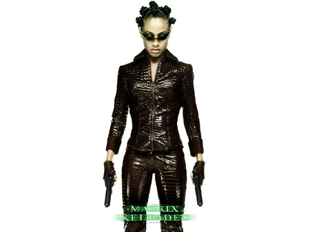 Untitled Wallpaper - jada pinkett smith, niobe, the matrix, matrix, matrix reloaded