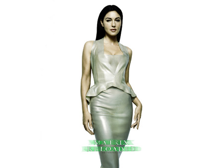 Untitled Wallpaper - gray, monica bellucci, matrix reloaded