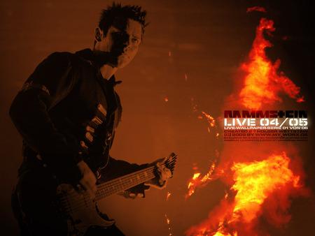 Richard Z Kruspe Rammstein Music Entertainment Background