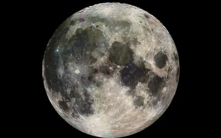 moon - moon, 2nd light, full moon, satellite