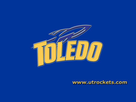 University Of Toledo Toledo Ohio Football Sports Background