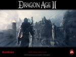 "Dragon Age 2 - ""Vision"" Official Wallpaper (Widescreen)"
