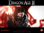 "Dragon Age 2 - ""Hawke"" Official Wallpaper"