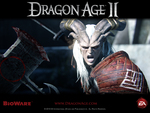"Dragon Age 2 - ""Intimidation"" Official Wallpaper"