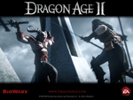 "Dragon Age 2 - ""Melee"" Official Wallpaper"