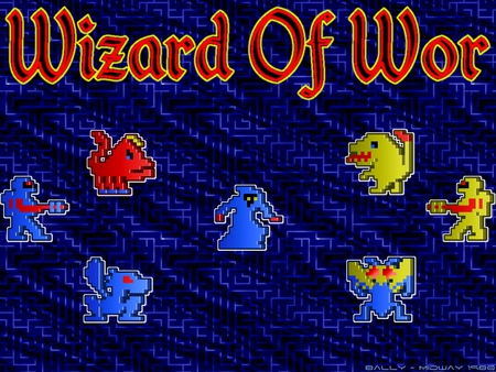 Wizard Of Wor - wizard, classic, wor, arcade, video game