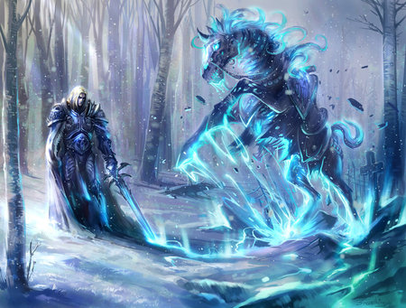Lich King World Of Warcraft Video Games Background