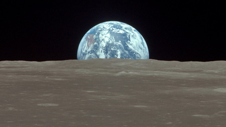 horizon - horizon, moon, space, earth