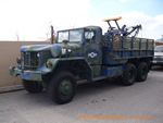 OLD ARMY TOW TRUCK