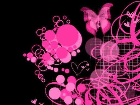 Black And Pink 3d And Cg Abstract Background Wallpapers On Desktop Nexus Image 608188