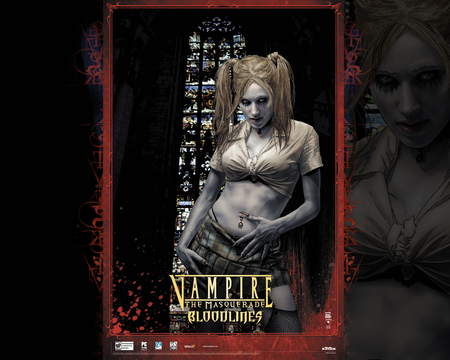 Vampire: The Masquerade - Bloodlines 1 Wallpaper - troika, masquerade, game, vampire