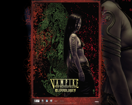 Vampire: The Masquerade - Bloodlines 2 Wallpaper - troika, masquerade, game, vampire