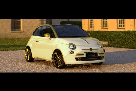Fiat 500 C Abarth - cars, 500c, sporty, abarth, fiat