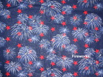 FOUTH OF JULY FABRIC