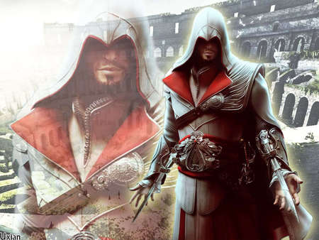 Ezio Auditore Da Firenze Other Video Games Background